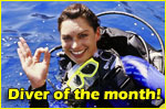 diver of the month